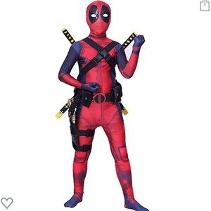 Boys Deadpool Costume with Mask Size 8-10